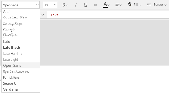 Using custom fonts in PowerApps - PowerNimbus